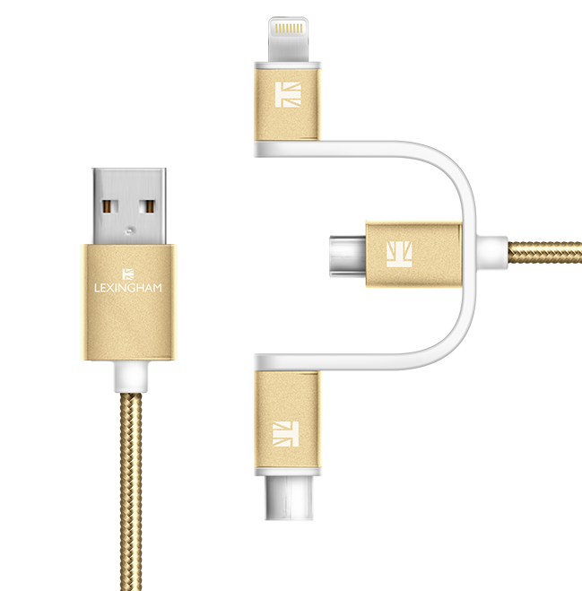 3 in 1 charge cable lexingham