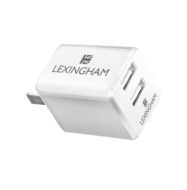 dual USB wall charger 5440 back lexingham