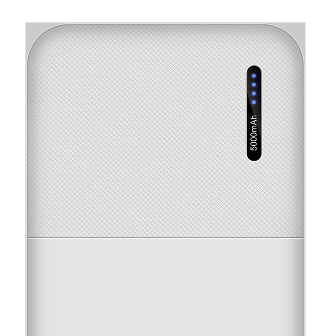 Power Bank 5000 2 port 2.1A portable 5900 lexingham