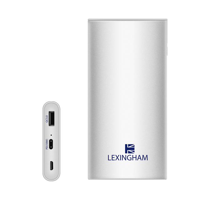 Premium 10,000mAh portable USB power bank 5930 lexingham