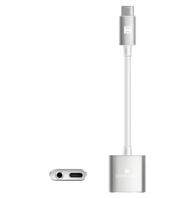 USB-C to 3_5mm + USB-C adaptor 5340 lexingham