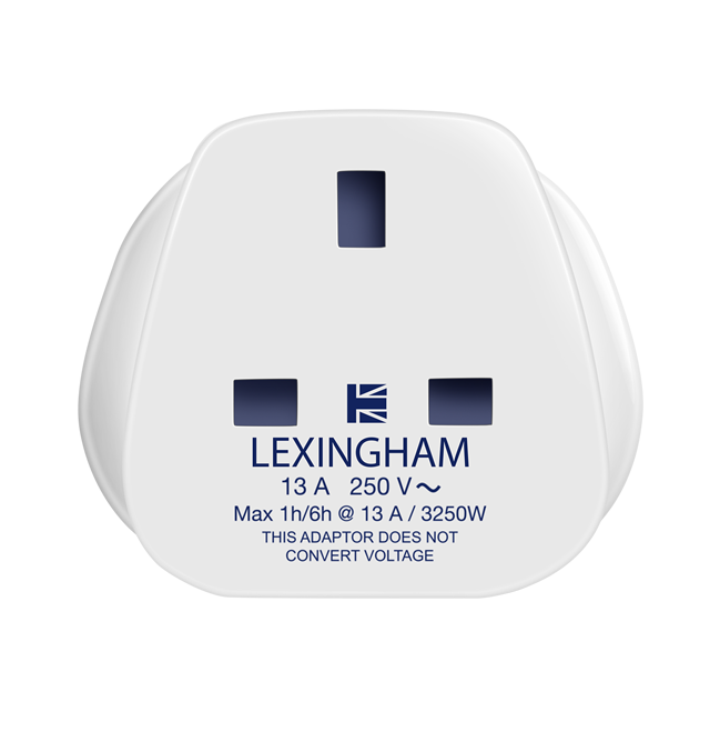 UK to EU travel adaptor 5001 lexingham