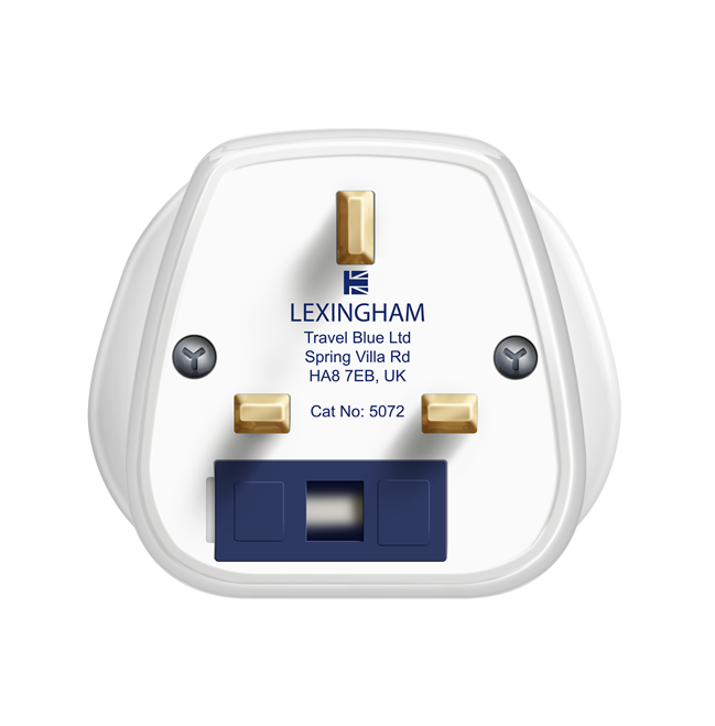 World to UK travel adaptor 5072 lexingham