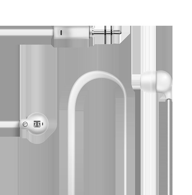 non tangle ear phones lexingham 5220 white