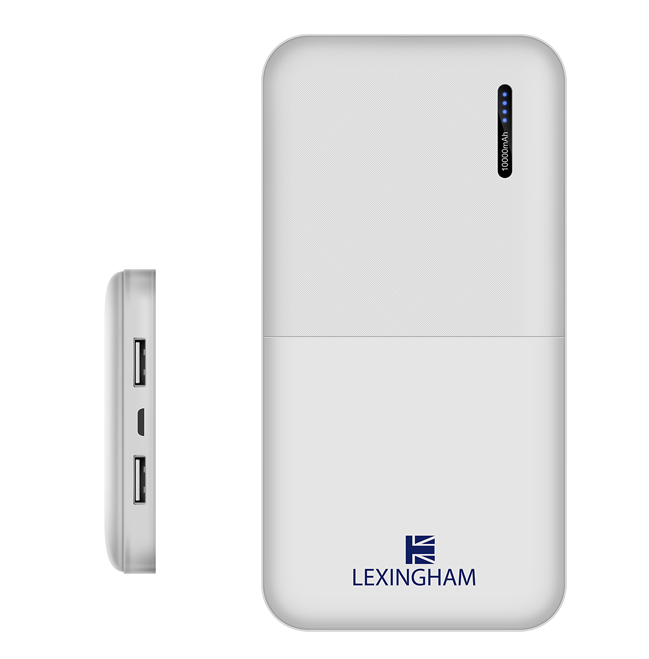 Portable USB Power Bank 10,000mAh lexingham 5920