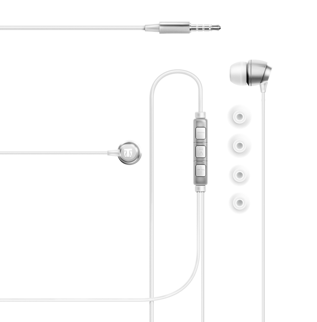 premium build earphones with in-line microphone and remote control 5230 lexingham